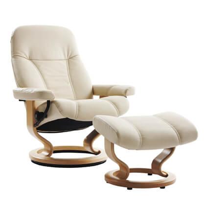 Stressless思特萊斯 挪威原裝舒適椅 ─Consul 經典底座