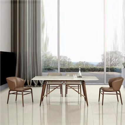 DTB-16111餐桌(180*100*75)+CHR-16111餐椅*6