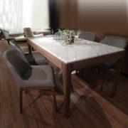 247T餐桌+ Badi餐椅(一桌六椅)