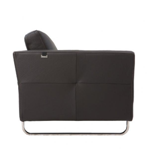 C10600-1人座全牛皮沙發