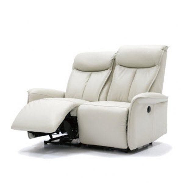 C19336-2人座皮沙發