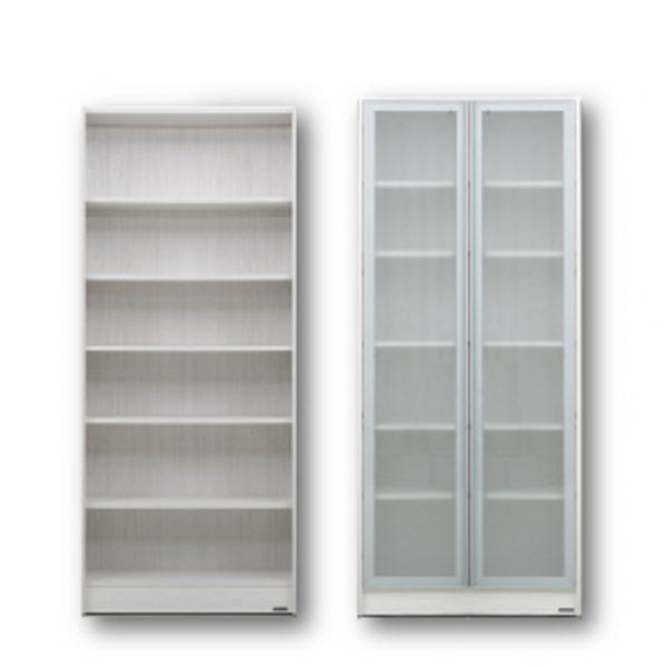 C50001-玻璃門書櫃80-CM1