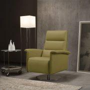 WADI-(墨綠)單人電動功能沙發