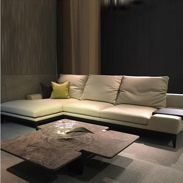 雅砌-(2-3)真皮G1L型沙發(全台獨家優惠)