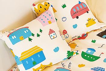 最後倒數加碼-喂wei聯名設計甜蜜的家抱枕(45*45)