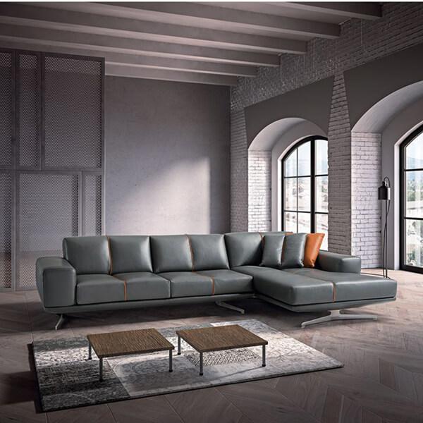 2-4-100_義大利原裝全厚牛皮L型沙發PS-NAOS(全台獨家優惠)