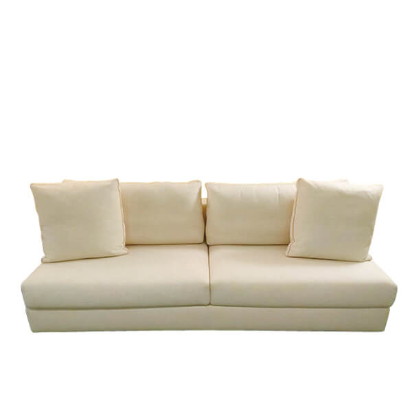 FLOS-(1-1)Cassin -193-MILOE一字型米色沙發(全台獨售)