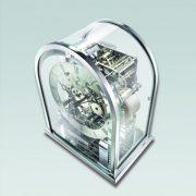 德國肯尼家 小型鍍鉻座鐘 3