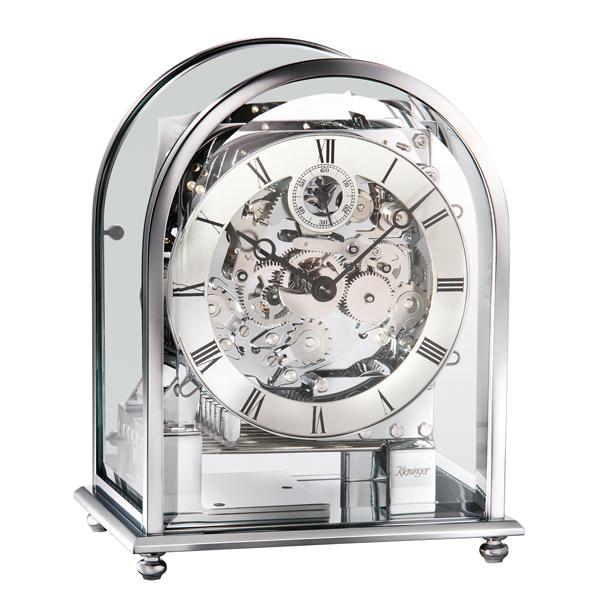 德國肯尼家 小型鍍鉻座鐘