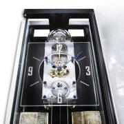 德國肯尼家 限量超薄設計鰭狀物裝飾擒縱系統掛鐘 2
