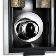 德國肯尼家 限量超薄設計鰭狀物裝飾擒縱系統掛鐘 4