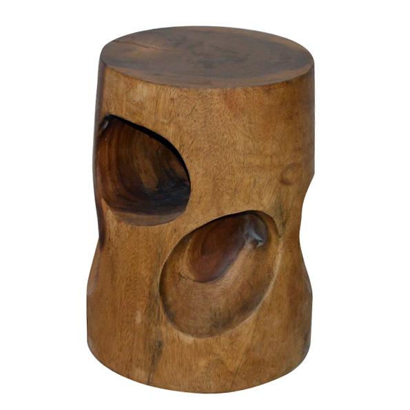 A-002 木椅凳 (Ø30x45h)$2,900