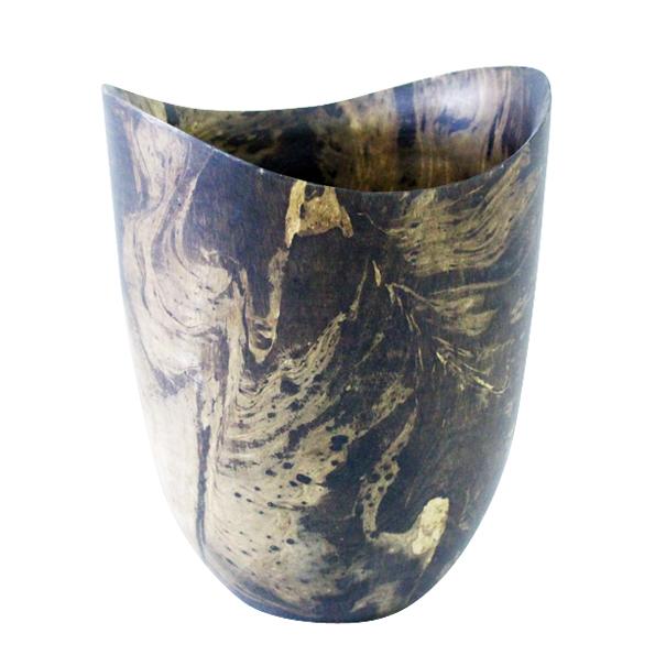 A-020 木製花器 (Ø29×35.5h)$1,800