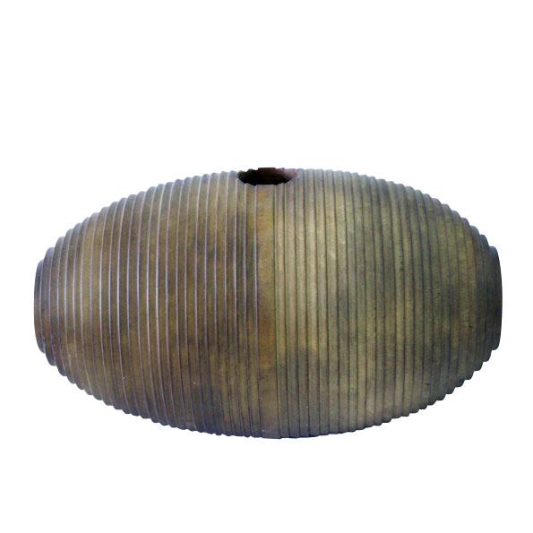 A-030 木製花器 (51×27.5h)$2,700