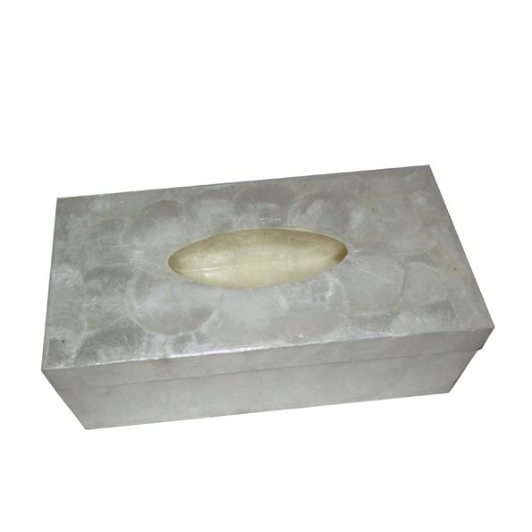 B-013 貝殼面紙盒 (27x14x8.5h)$560