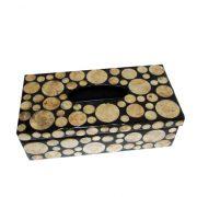 B-014 貝殼面紙盒 (27x14x8.5h)$560