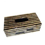 B-015 貝殼面紙盒 (27x14x8.5h)$560